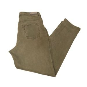 Vintage Gloria Vanderbilt army green jeans